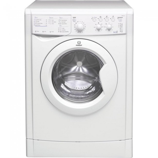 Indesit IWDC6125 6kg/5kg Washer Dryer -White
