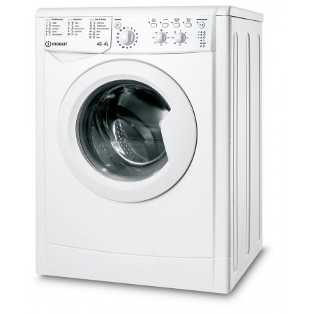 Indesit IWDC65125UKN 6kg/5kg 1200 Spin Washer Dryer