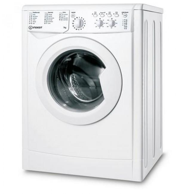Indesit IWC71252WUKN 7kg 1200 Spin Washing Machine - White - A+++
