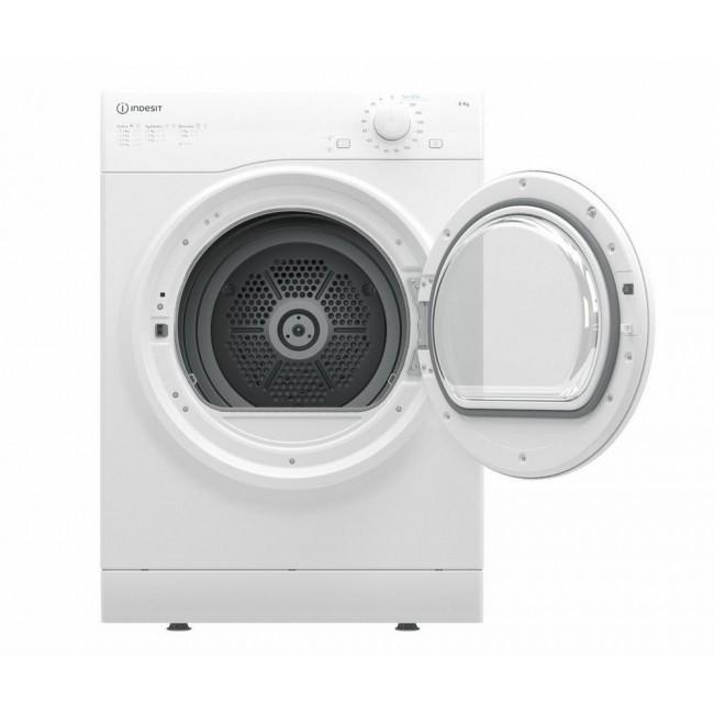 Indesit I1D80WUK 8kg Air-Vented Tumble Dryer - White