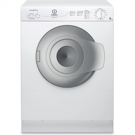 Indesit NIS41V 4kg Vented Tumble Dryer - White - Compact Size dryer