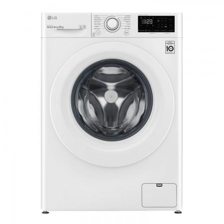 LG F4V308WNW 8kg 1400 Spin Washing Machine - White - A+++