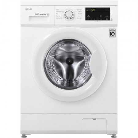 LG F4MT08W 8 kg 1400 Inverter Direct Drive™ Washing Machine