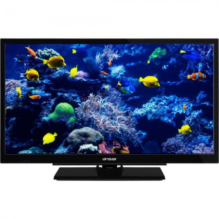"""Linsar 24LED5000 24"""" HD Ready TV with Integrated DVD and Freeview HD- Black - 5 Year Warranty"""
