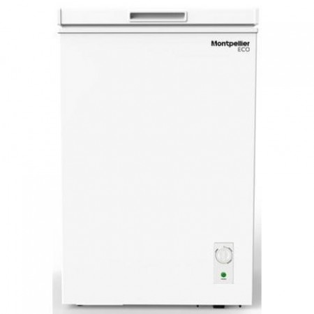 Montpellier MCF99W Static Chest Freezer - White - A+ Energy Rated