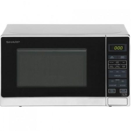 Sharp R272SLM 20 Litre Solo Microwave - Silver