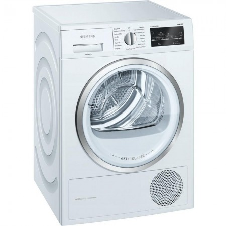 Siemens  WT45W492GB 9kg Heat Pump  Dryer - White - A++ Rated 5Yr Warranty