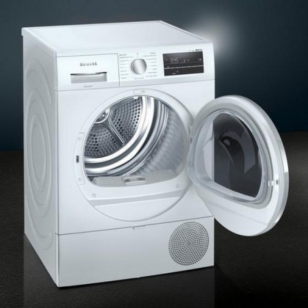 Siemens WT47RT90GB 9kg Heat Pump Dryer - White - A++ Energy Rated 5 year warranty
