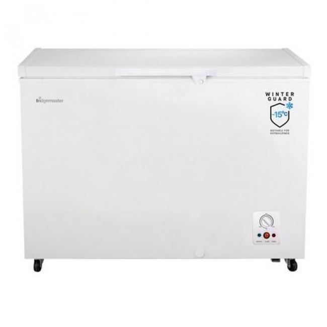 Fridgemaster MCF306 112.5cm Static Chest Freezer - White - A+ Energy Rated
