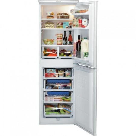 HOTPOINT HBNF 5517 W UK Frost Free Fridge Freezer - White - A+