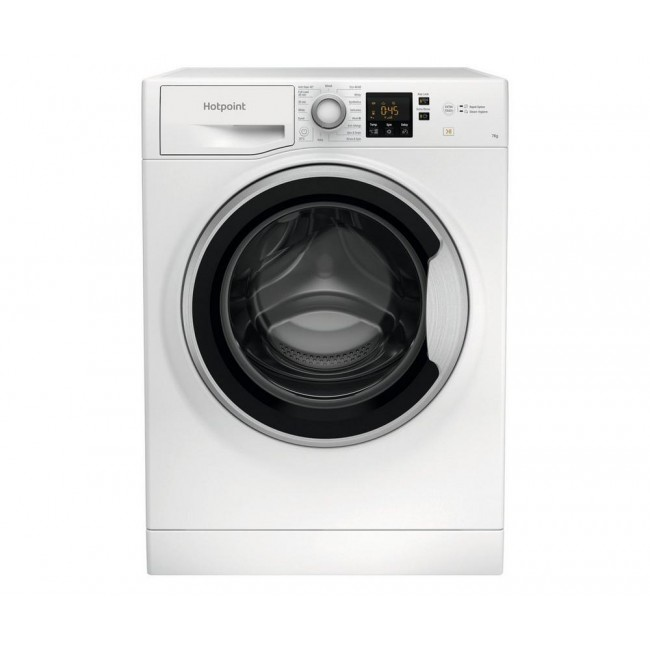 Hotpoint NSWE742UWSUKN 7kg 1400 Spin Washing Machine - A+++