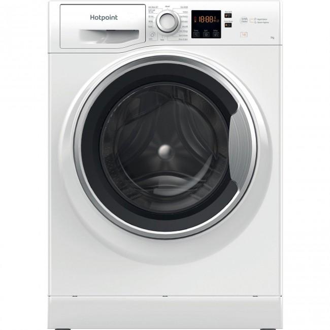 Hotpoint NSWE743UWSUKN 1400 Spin, 7kg Washing Machine - White