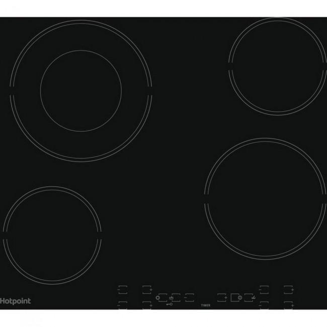 Hotpoint HR605BH 60cm Ceramic Hob - Black