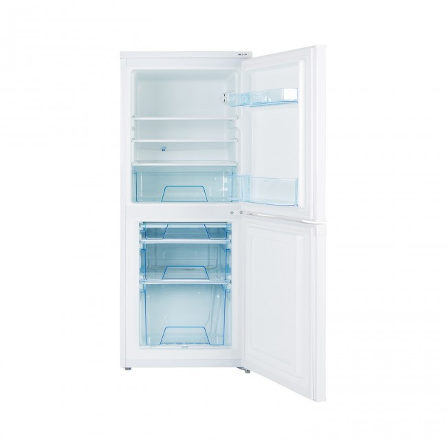 Lec T5039 50/50 Manual Defrost Fridge Freezer - White