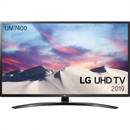 "LG 43UM7400PLB 43"" 4K UHD TV,webOS-Freeview-Freesat-A Rated"