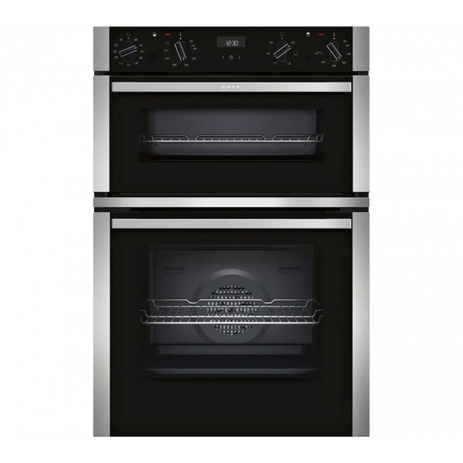 NEFF  U1ACE5HN0B Built In Double Oven - Stainless Steel-2 year Warranty