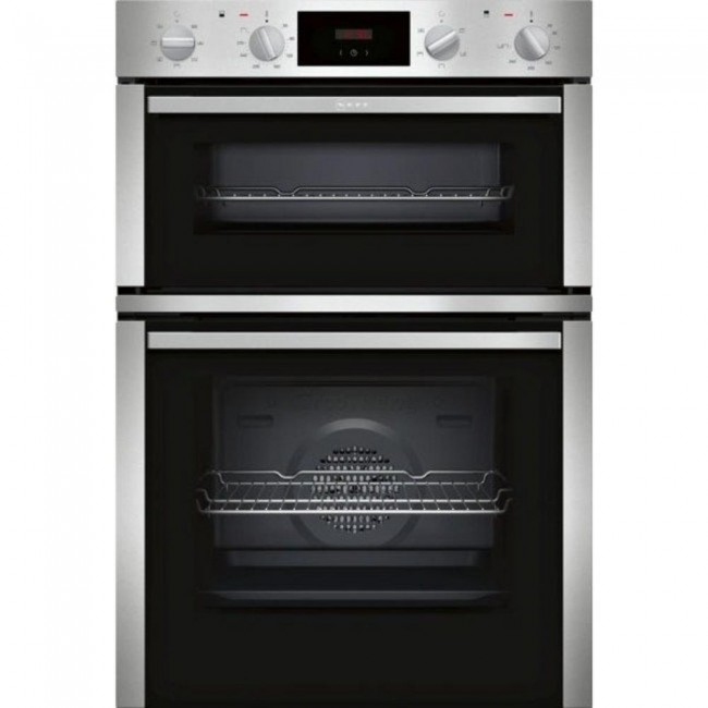 Neff U1DCC1BN0B Built In Double Electric Oven - Stainless Steel- 2 YR Warranty