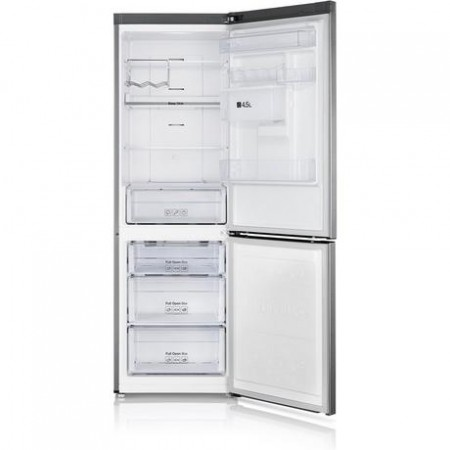 Samsung RB31FDRNDSA 60cm No Frost Fridge Freezer - Water Dispenser - Silver-5yr Warranty