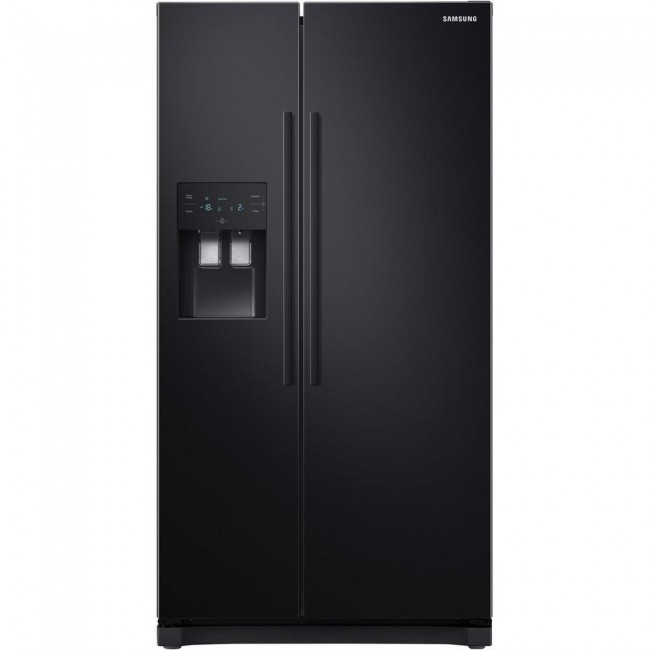 Samsung RS50N3513BC American Style Fridge Freezer - Black- 5 year Warranty
