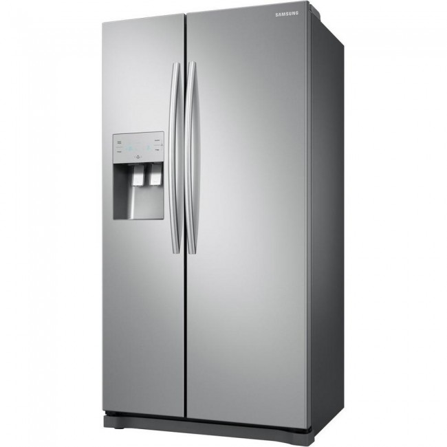 Samsung RS50N3513SL American Style Fridge Freezer - Stainless Steel Effect - 5 Year Warranty