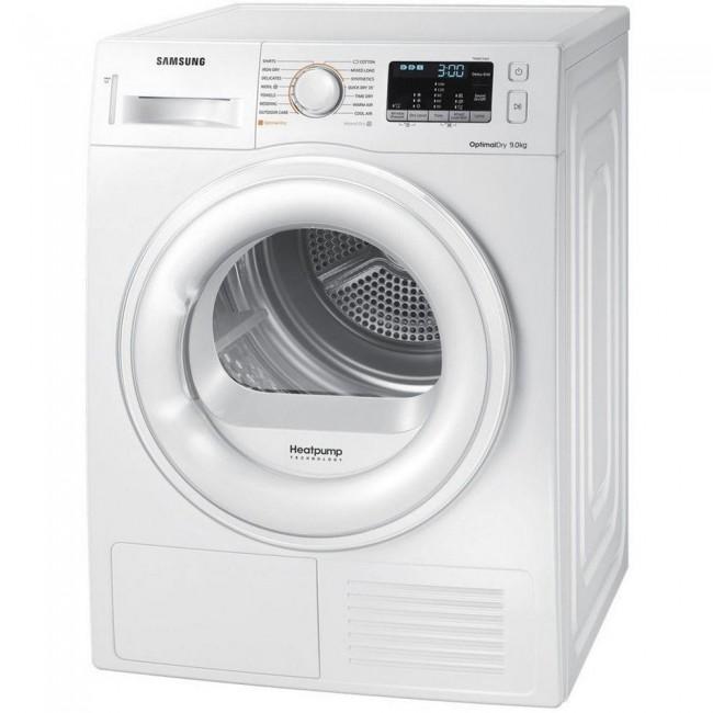 Samsung DV90M50001W 9kg Heat Pump  - Dryer - White - A++ Rated 5Yr Warranty