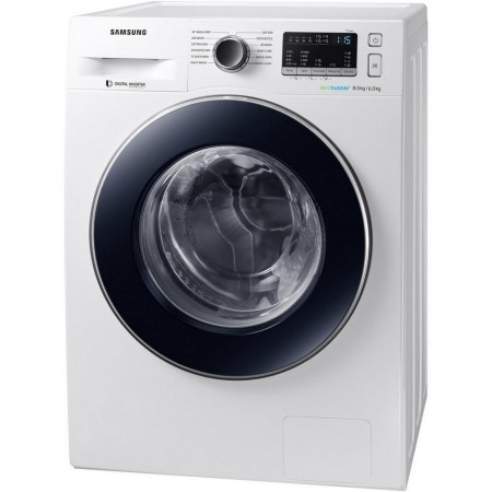 Samsung WD80M4B53JW 8kg/6kg 1400 Spin Washer Dryer- 5 year warranty