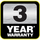 Lec R5517W Undercounter Fridge 3 year warranty