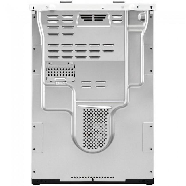 Zanussi ZCV66370WA 60cm Electric Double Oven with Ceramic Hob - White  2 Year Warranty