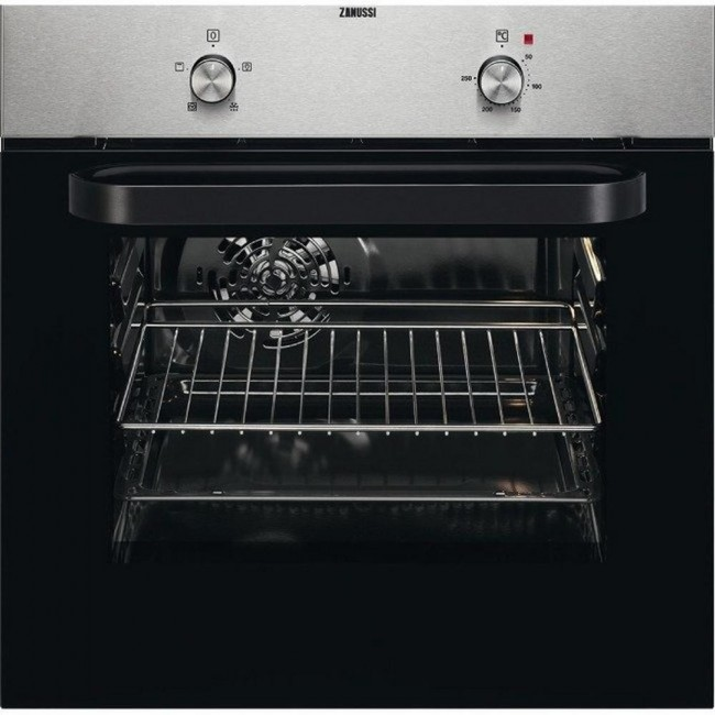Zanussi ZZB30401XK Built In Electric Single Oven - Stainless Steel
