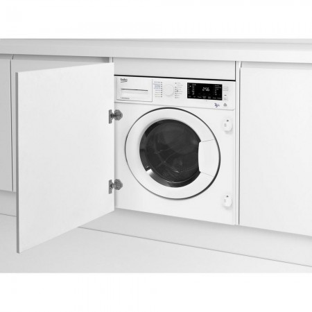 Beko WDIC752300F2 Integrated 7kg/5kg 1200 Spin Washer Dryer 2 year warranty