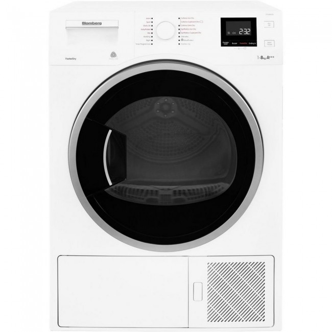 Blomberg LTH3842W 8kg Heat Pump Tumble Dryer - A+++ 3 year Warranty