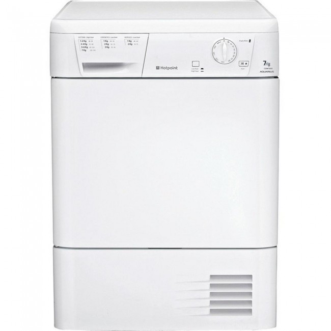 Hotpoint CDN7000BP 7kg Condenser Tumble Dryer
